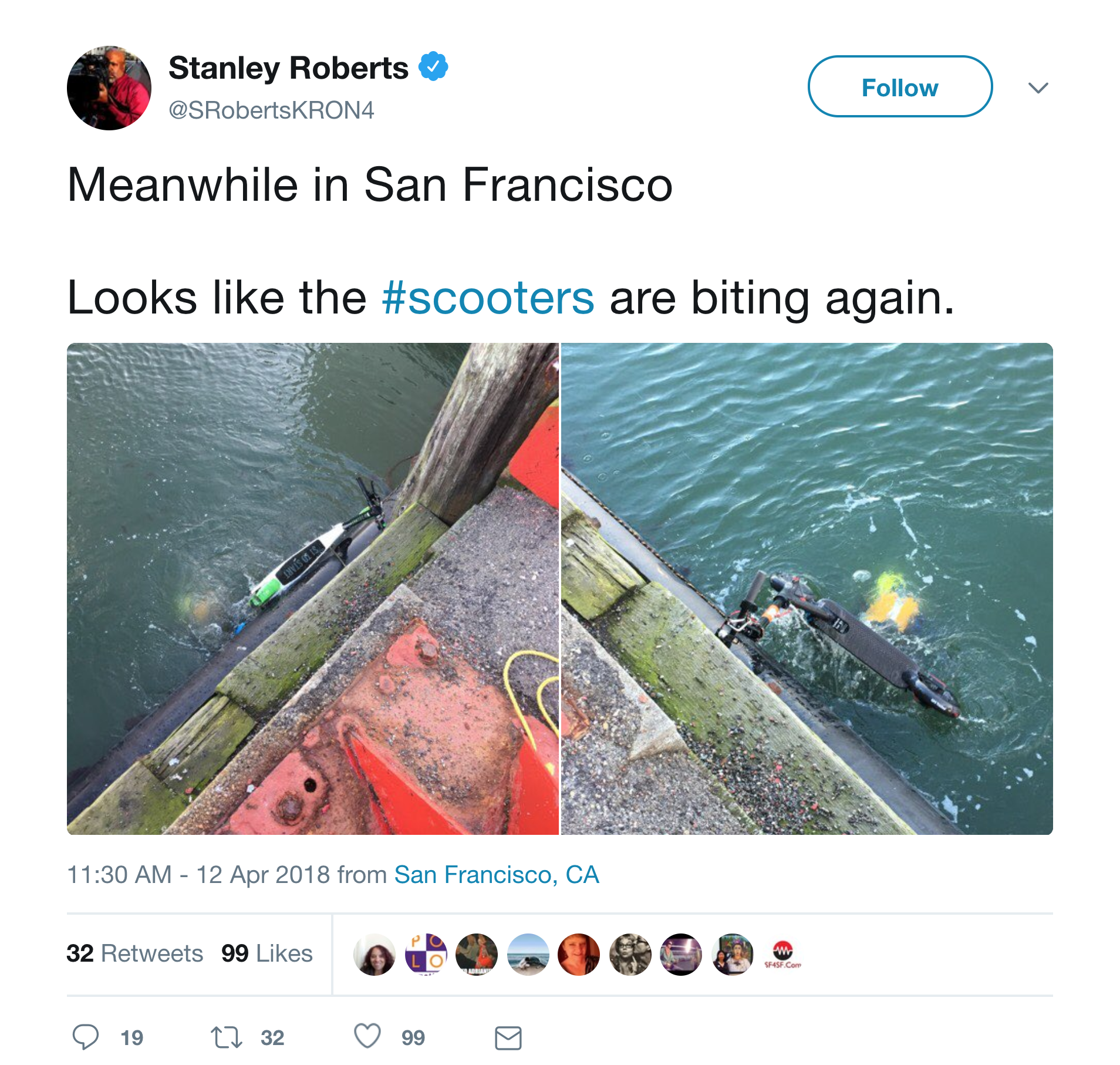 e-scooter-thrown-in-water-SF