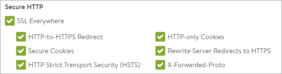 HTTP to HTTPS Avi Networks