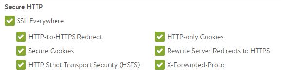HTTP to HTTPS Avi Networks